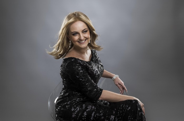 Naomi Price, Adele cover singer for the Herald Sun. Photo Mark Cranitch.